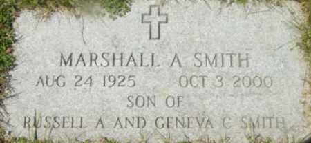 SMITH, MARSHALL A - Berkshire County, Massachusetts | MARSHALL A SMITH - Massachusetts Gravestone Photos