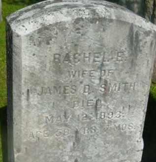 SMITH, RACHEL E - Berkshire County, Massachusetts | RACHEL E SMITH - Massachusetts Gravestone Photos