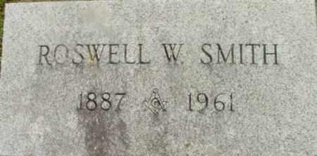 SMITH, ROSWELL W - Berkshire County, Massachusetts | ROSWELL W SMITH - Massachusetts Gravestone Photos