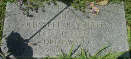 SMITH, RUSSELL B - Berkshire County, Massachusetts | RUSSELL B SMITH - Massachusetts Gravestone Photos