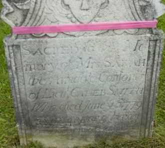 SMITH, SARAH - Berkshire County, Massachusetts | SARAH SMITH - Massachusetts Gravestone Photos