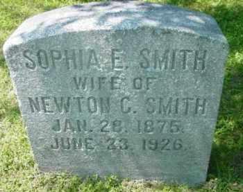 SMITH, SOPHIA E - Berkshire County, Massachusetts | SOPHIA E SMITH - Massachusetts Gravestone Photos