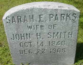 SMITH, SARAH E - Berkshire County, Massachusetts | SARAH E SMITH - Massachusetts Gravestone Photos