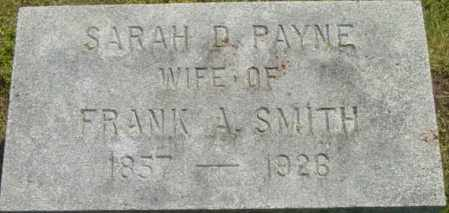 SMITH, SARAH D - Berkshire County, Massachusetts | SARAH D SMITH - Massachusetts Gravestone Photos
