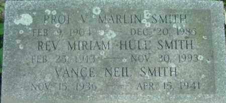 SMITH, MIRIAM HULL - Berkshire County, Massachusetts | MIRIAM HULL SMITH - Massachusetts Gravestone Photos