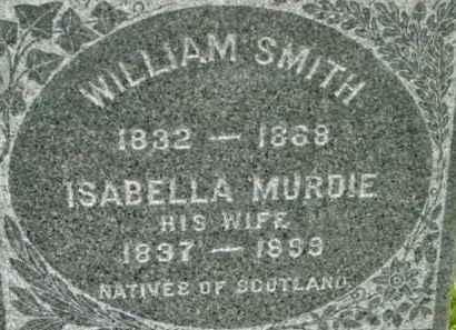 SMITH, ISABELLA - Berkshire County, Massachusetts | ISABELLA SMITH - Massachusetts Gravestone Photos