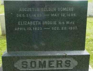 BRODIE, ELIZABETH - Berkshire County, Massachusetts | ELIZABETH BRODIE - Massachusetts Gravestone Photos