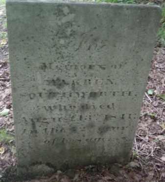 SOUTHWORTH, WARREN - Berkshire County, Massachusetts | WARREN SOUTHWORTH - Massachusetts Gravestone Photos
