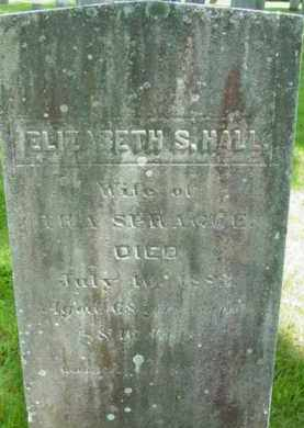 HALL SPRAGUE, ELIZABETH S - Berkshire County, Massachusetts | ELIZABETH S HALL SPRAGUE - Massachusetts Gravestone Photos
