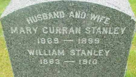 CURRAN STANLEY, MARY - Berkshire County, Massachusetts | MARY CURRAN STANLEY - Massachusetts Gravestone Photos