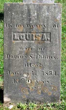 STEBBINS, LOUISA - Berkshire County, Massachusetts | LOUISA STEBBINS - Massachusetts Gravestone Photos