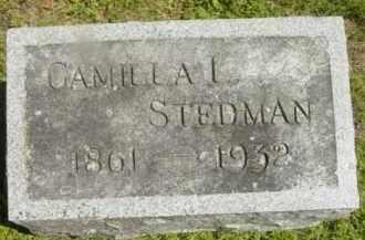 STEDMAN, CAMILLA L - Berkshire County, Massachusetts   CAMILLA L STEDMAN - Massachusetts Gravestone Photos