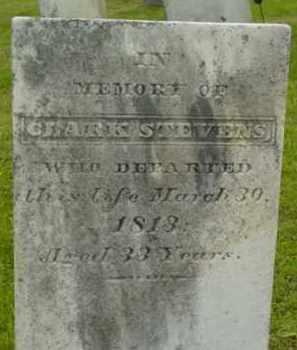 STEVENS, CLARK - Berkshire County, Massachusetts   CLARK STEVENS - Massachusetts Gravestone Photos