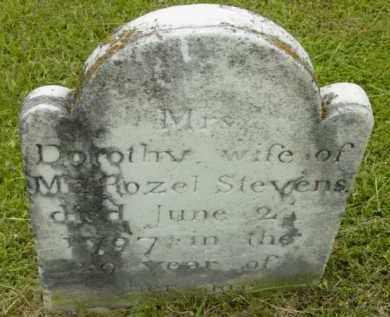 STEVENS, DOROTHY - Berkshire County, Massachusetts | DOROTHY STEVENS - Massachusetts Gravestone Photos
