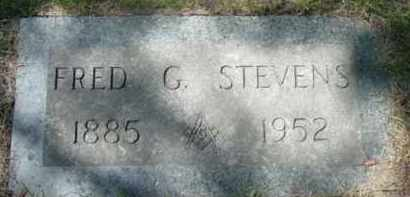 STEVENS, FRED G - Berkshire County, Massachusetts   FRED G STEVENS - Massachusetts Gravestone Photos