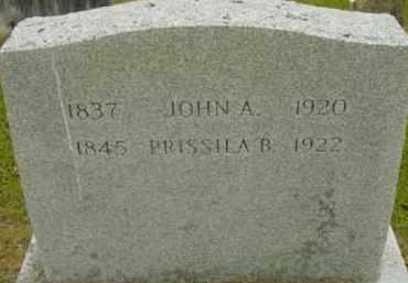 STEVENS, JOHN A - Berkshire County, Massachusetts | JOHN A STEVENS - Massachusetts Gravestone Photos