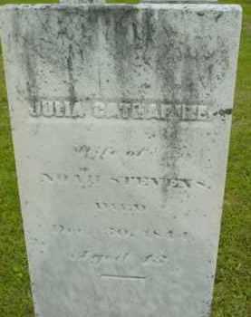 STEVENS, JULIA CATHARINE - Berkshire County, Massachusetts | JULIA CATHARINE STEVENS - Massachusetts Gravestone Photos