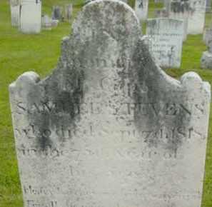 STEVENS, SAMUEL - Berkshire County, Massachusetts   SAMUEL STEVENS - Massachusetts Gravestone Photos