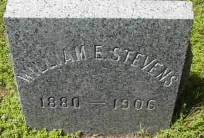 STEVENS, WILLIAM E - Berkshire County, Massachusetts | WILLIAM E STEVENS - Massachusetts Gravestone Photos