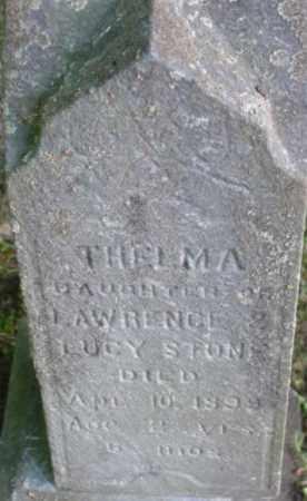 STONE, THELMA - Berkshire County, Massachusetts   THELMA STONE - Massachusetts Gravestone Photos