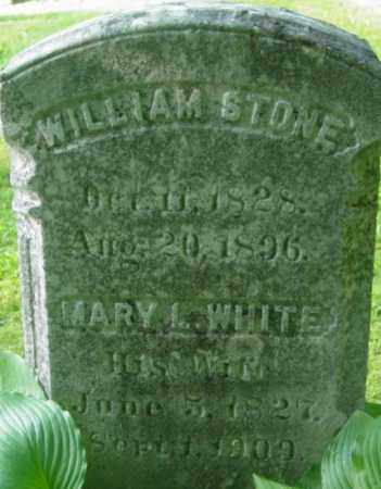 STONE, WILLIAM - Berkshire County, Massachusetts | WILLIAM STONE - Massachusetts Gravestone Photos