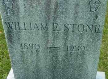 STONE, WILLIAM E - Berkshire County, Massachusetts | WILLIAM E STONE - Massachusetts Gravestone Photos