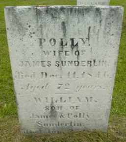 SUNDERLIN, WILLIAM - Berkshire County, Massachusetts | WILLIAM SUNDERLIN - Massachusetts Gravestone Photos