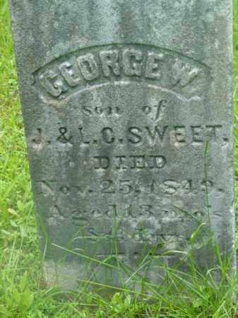 SWEET, GEORGE W - Berkshire County, Massachusetts | GEORGE W SWEET - Massachusetts Gravestone Photos