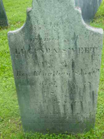 SWEET, LUCINDA - Berkshire County, Massachusetts | LUCINDA SWEET - Massachusetts Gravestone Photos