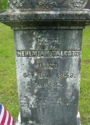 TALCOTT, NEHEMIAH - Berkshire County, Massachusetts   NEHEMIAH TALCOTT - Massachusetts Gravestone Photos