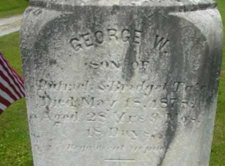 TATE, GEORGE W - Berkshire County, Massachusetts | GEORGE W TATE - Massachusetts Gravestone Photos