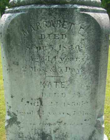 TATE, MARGARET E - Berkshire County, Massachusetts | MARGARET E TATE - Massachusetts Gravestone Photos