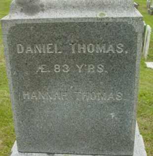 THOMAS, HANNAH - Berkshire County, Massachusetts | HANNAH THOMAS - Massachusetts Gravestone Photos