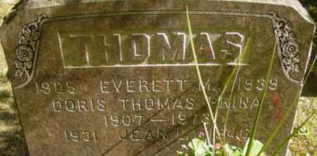 THOMAS, EVERETT M - Berkshire County, Massachusetts | EVERETT M THOMAS - Massachusetts Gravestone Photos
