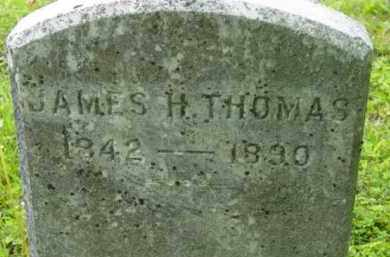 THOMAS, JAMES H - Berkshire County, Massachusetts   JAMES H THOMAS - Massachusetts Gravestone Photos