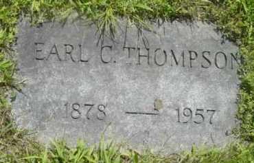 THOMPSON, EARL C - Berkshire County, Massachusetts | EARL C THOMPSON - Massachusetts Gravestone Photos