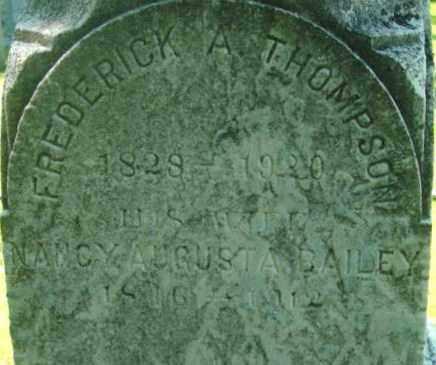 THOMPSON, NANCY AUGUSTA - Berkshire County, Massachusetts | NANCY AUGUSTA THOMPSON - Massachusetts Gravestone Photos