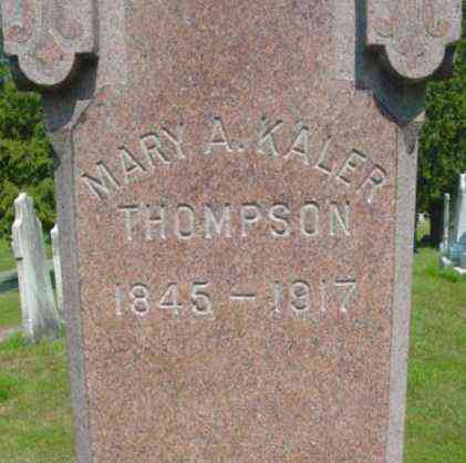 THOMPSON, MARY A - Berkshire County, Massachusetts | MARY A THOMPSON - Massachusetts Gravestone Photos