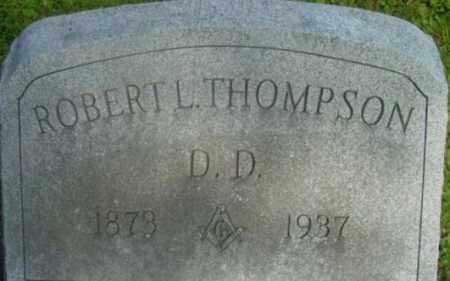 THOMPSON, ROBERT L - Berkshire County, Massachusetts | ROBERT L THOMPSON - Massachusetts Gravestone Photos
