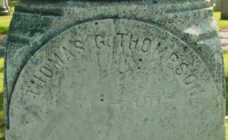 THOMPSON, THOMAS G - Berkshire County, Massachusetts | THOMAS G THOMPSON - Massachusetts Gravestone Photos