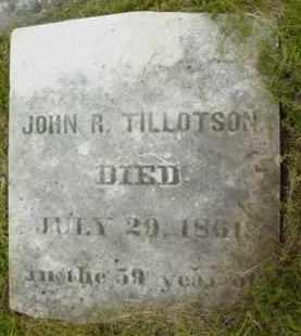 TILLOTSON, JOHN R - Berkshire County, Massachusetts | JOHN R TILLOTSON - Massachusetts Gravestone Photos