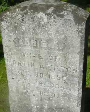 TILTON, ADDIE A - Berkshire County, Massachusetts | ADDIE A TILTON - Massachusetts Gravestone Photos