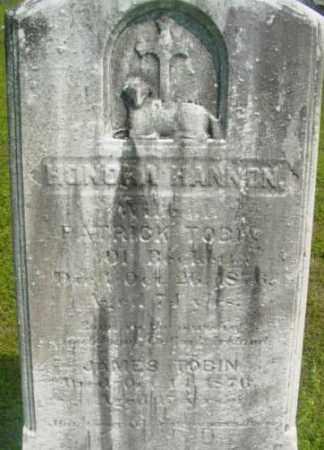 HANNON, HONORA - Berkshire County, Massachusetts   HONORA HANNON - Massachusetts Gravestone Photos