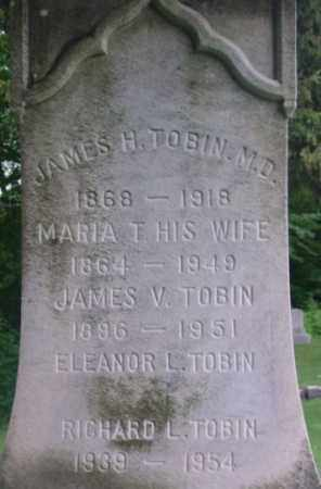 TOBIN, JAMES V - Berkshire County, Massachusetts | JAMES V TOBIN - Massachusetts Gravestone Photos