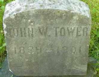 TOWER, JOHN W - Berkshire County, Massachusetts | JOHN W TOWER - Massachusetts Gravestone Photos