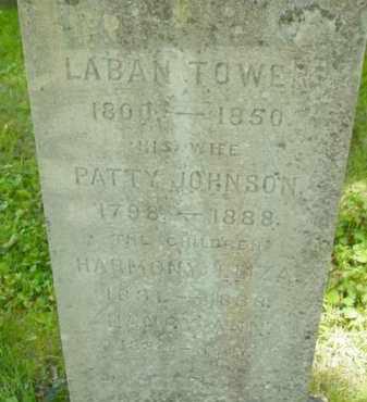 TOWER, HARMONY ELIZA - Berkshire County, Massachusetts | HARMONY ELIZA TOWER - Massachusetts Gravestone Photos