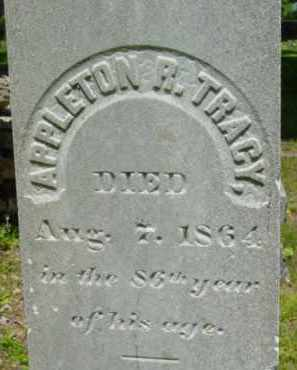 TRACY, APPLETON R - Berkshire County, Massachusetts | APPLETON R TRACY - Massachusetts Gravestone Photos