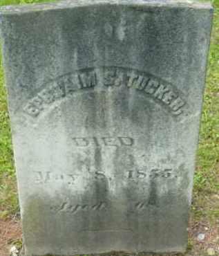TUCKER, EPHRAIM S - Berkshire County, Massachusetts | EPHRAIM S TUCKER - Massachusetts Gravestone Photos