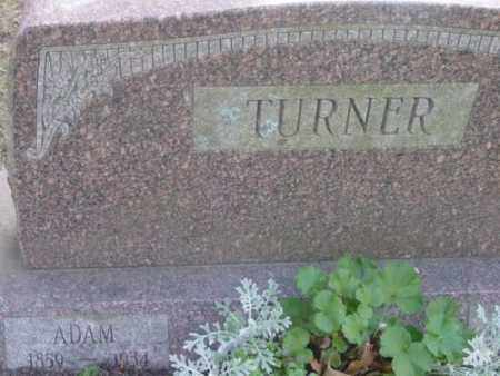 TURNER, ADAM - Berkshire County, Massachusetts | ADAM TURNER - Massachusetts Gravestone Photos