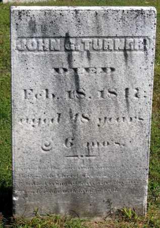 TURNER, JOHN G. - Berkshire County, Massachusetts | JOHN G. TURNER - Massachusetts Gravestone Photos